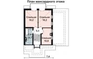 Чертеж Проект дома AS-433-2