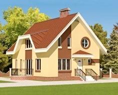 Компактный дом с большой жилой площадью ЯА 155-7