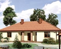 Уютный одноэтажный загородный дом. К-146-8